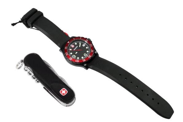 Набор наручные часы Wenger Swiss Military Ranger 70903W и нож Wenger EvoGrip 1 14 09 302