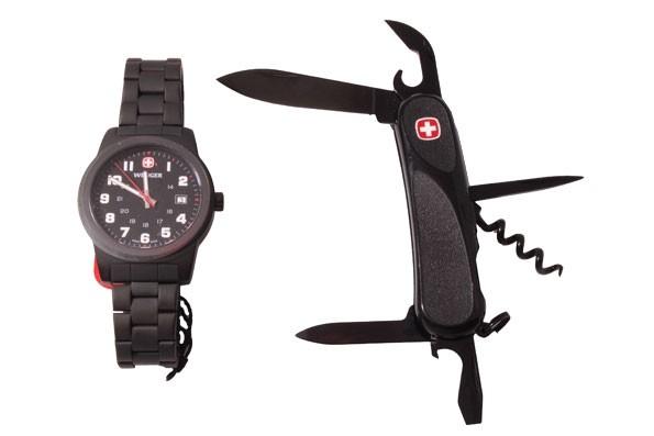 Набор Wenger Нож и Часы 01 441 113