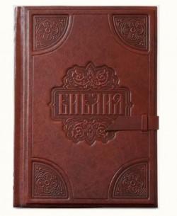 Библия большая с золотым обрезом