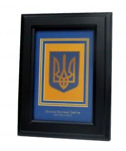 Герб Украины в рамке мал.
