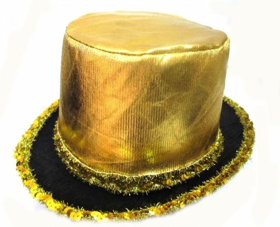 "Шляпа ""Цилиндр супер блеск"""