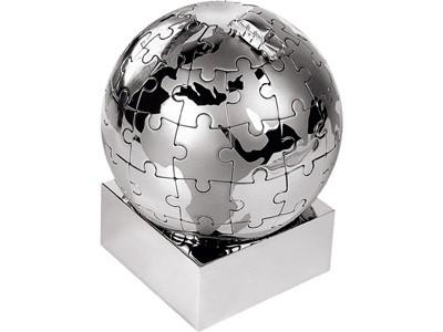 Паззл в виде земного шара