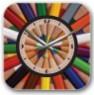 Часы карандаши настенные