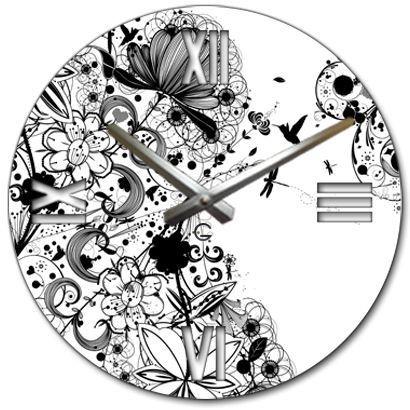 """Настенные часы """"Муар"""" C-052"""