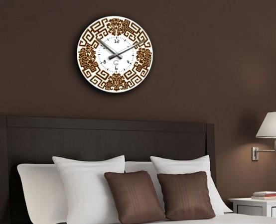 """Настенные часы """"Орнамент"""" C-054"""