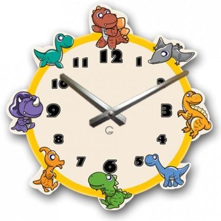 """Детские настенные часы """"Динозавры"""" C-067"""