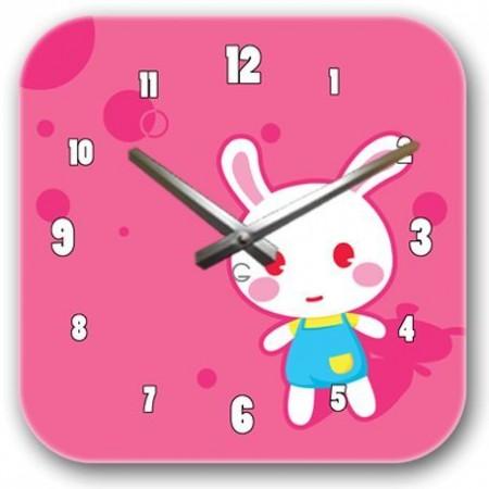 """Детские настенные часы """"Зайчик"""" C-071"""