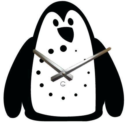 """Детские настенные часы """"Пингвин"""" C-073"""