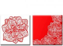 Картина Диптих Orchid (2 картины) D-008