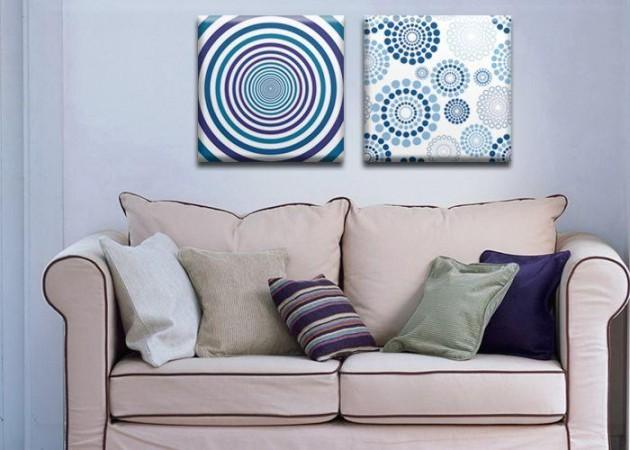 Картина Диптих Hypnosis (2 картины) D-009