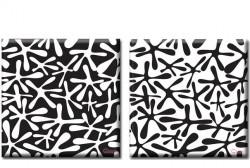 Картина Диптих  Traces  (2 картины) D-012