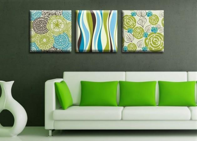 Картина Триптих Spring (3 картины) D-017