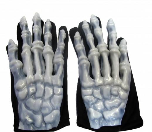 Руки (перчатки) скелета светящиеся