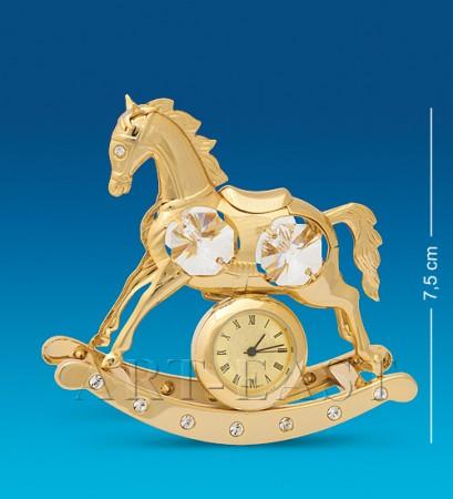 "Фигурка с часами ""Лошадь"" (Юнион)"