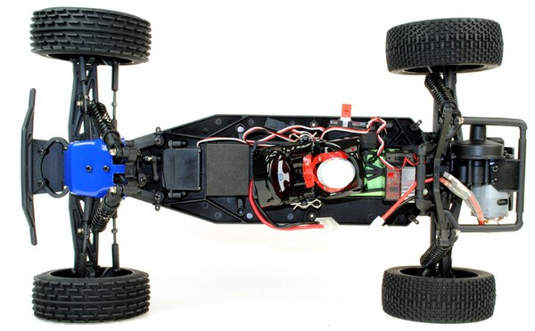 Автомобиль ACME Racing Flash 2WD 1:10 2.4GHz EP (Blue RTR Version)