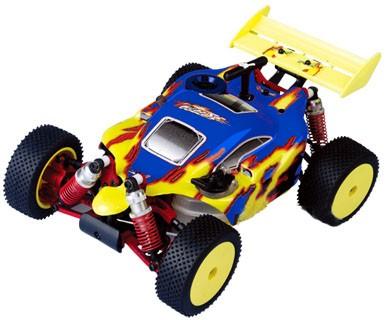 Автомобиль ACME Racing NB16 4WD 1:16 2.4GHz Nitro (Blue RTR Version)