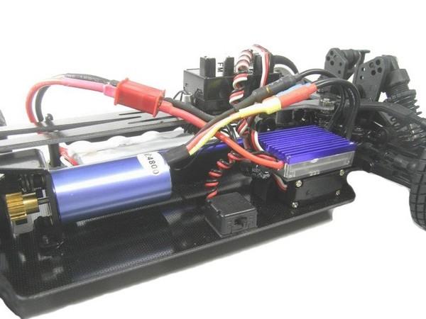 Автомобиль ACME Racing Shadow Brushless 4WD 1:10 2.4GHz EP (RTR Version)