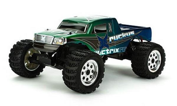Автомобиль ECX Ruckus 2WD 1:10 EP 2.4Ghz (Green RTR Version)