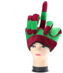 """Шляпа """"рука - fuck"""""""