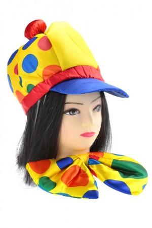 Шляпа  бант клоунский набор