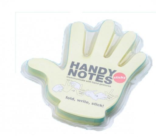 Рука  блокнот