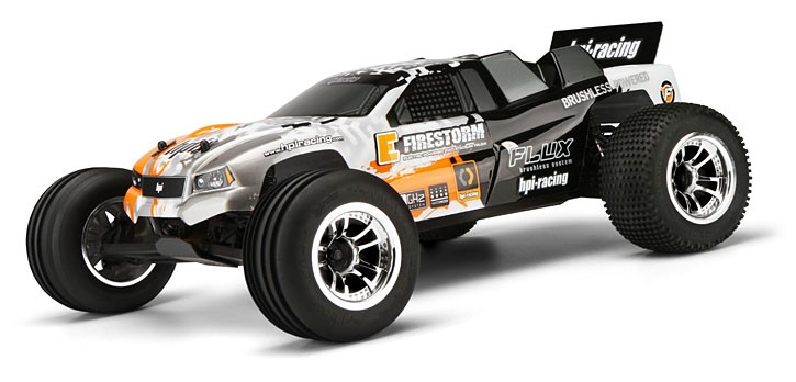 Автомобиль HPI E-Firestorm 10T Flux 2WD 1:10 EP 2.4 GHz (RTR Version)