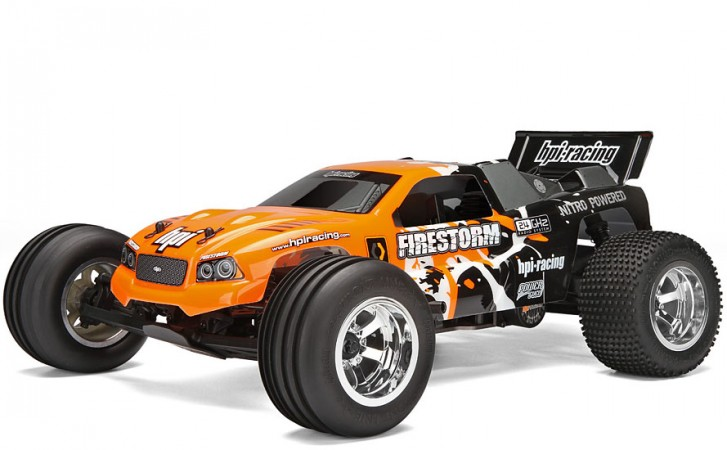 Автомобиль HPI Firestorm 10T Nitro DSX-1 2WD 1:10 2.4GHz (Fire RTR Version)