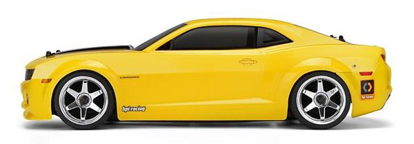 Автомобиль HPI Sprint 2 Flux 2010 Chevrolet Camaro 4WD 1:10 EP 2.4 GHz (RTR Version)