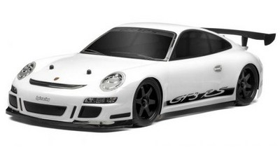 Автомобиль HPI Sprint 2 Flux Porsсhe 911 GT3 RS 4WD 1:10 2.4GHz EP (White RTR Version)