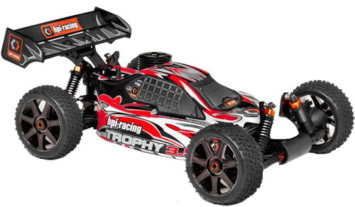 Автомобиль HPI Trophy 3.5 Nitro Buggy 4WD 1:8 2.4GHz (RTR Version)