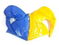 Шляпа Арлекино двухцветная