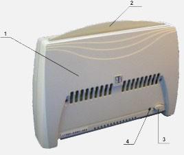 Очиститель воздуха с функцией ионизации Супер Плюс Эко С (модель 2008)