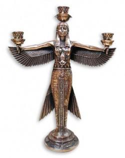 Подсвечник богиня Маат символ справедливости T575