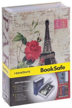 Книга сейф Париж средняя