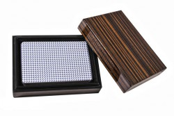 Колода карт в деревянной шкатулке B14L