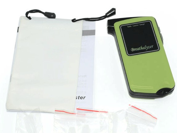 Алкотестер с LED дисплеем AT-858