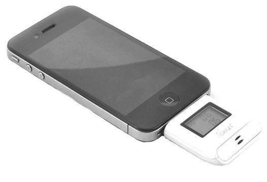 Персональный алкотестер ALT-41 для Iphone