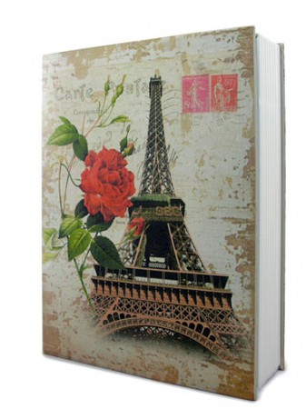Книга сейф с кодом Париж большая