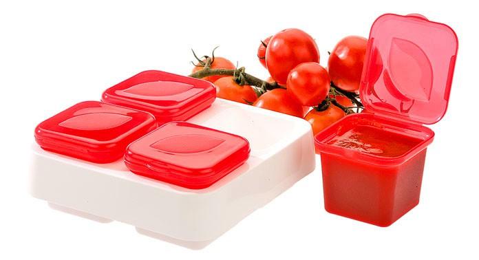 Контейнер для хранения и замораживания соусов 0.4 л