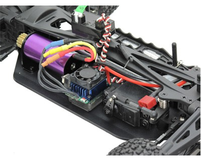 Радиоуправляемый автомобиль ACME Racing Bullet Brushless 4WD 1:10 2.4GHz EP (Blue RTR Version)