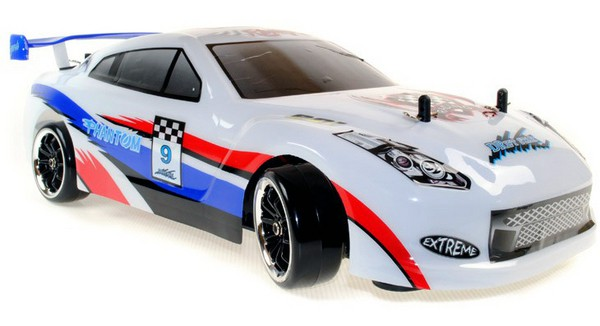Автомобиль ACME Racing Phantom Nissan GT-R Brushless 4WD 1:10 2.4GHz EP (RTR Version)
