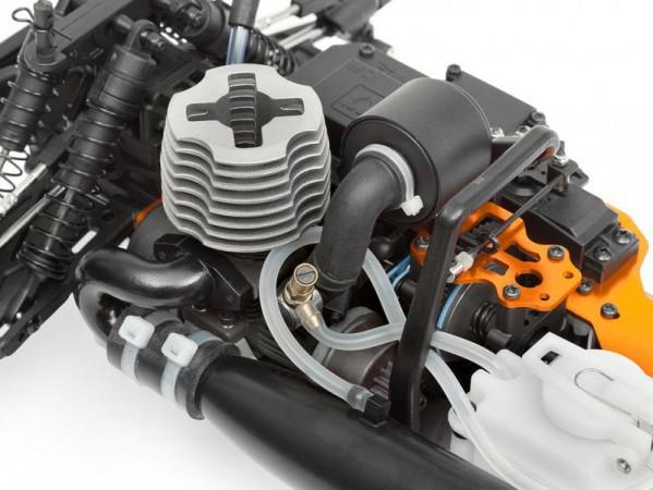 Автомобиль HPI Bullet MT 3.0 Nitro 4WD 1:10 2.4GHz (RTR Version)