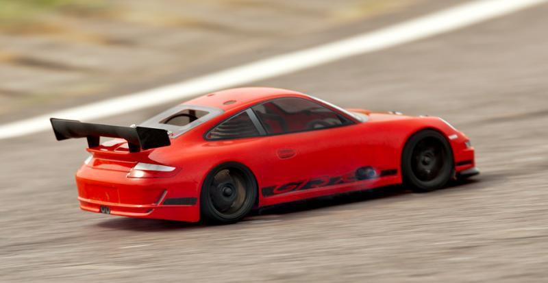 Автомобиль HPI Nitro RS4 3 Evo+ Porsсhe 911 GT3 4WD 1:10 2.4GHz (Red RTR Version)