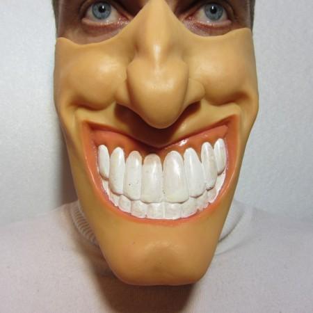 Полумаска улыбка