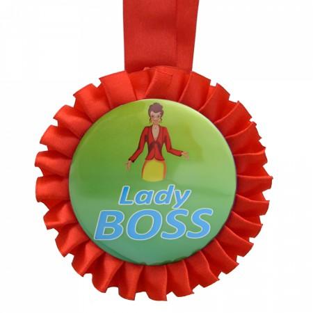 Медаль прикольная LEDY BOSS