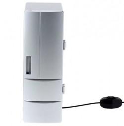 Мини холодильник USB металлик