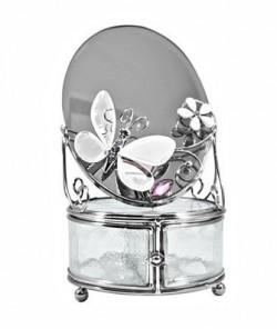 "Зеркало со шкатулкой ""Зеркальная бабочка"""