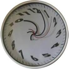 """Настенные часы """"Водоворот"""""""
