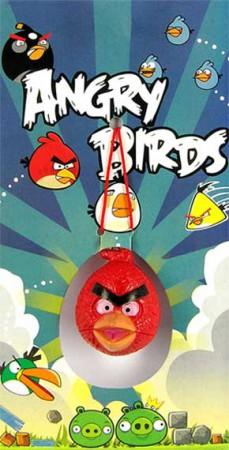 "Птички ""angry birds"" - подвеска"