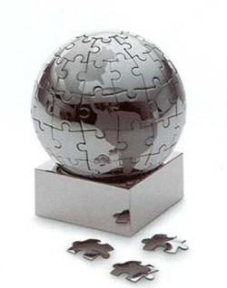 Паззл - стальной глобус Philippi большой